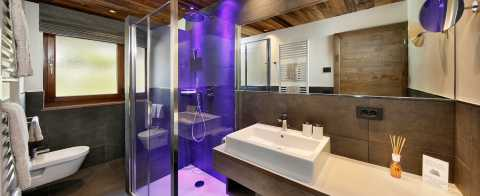 Apartment 3 − Bathroom with shower